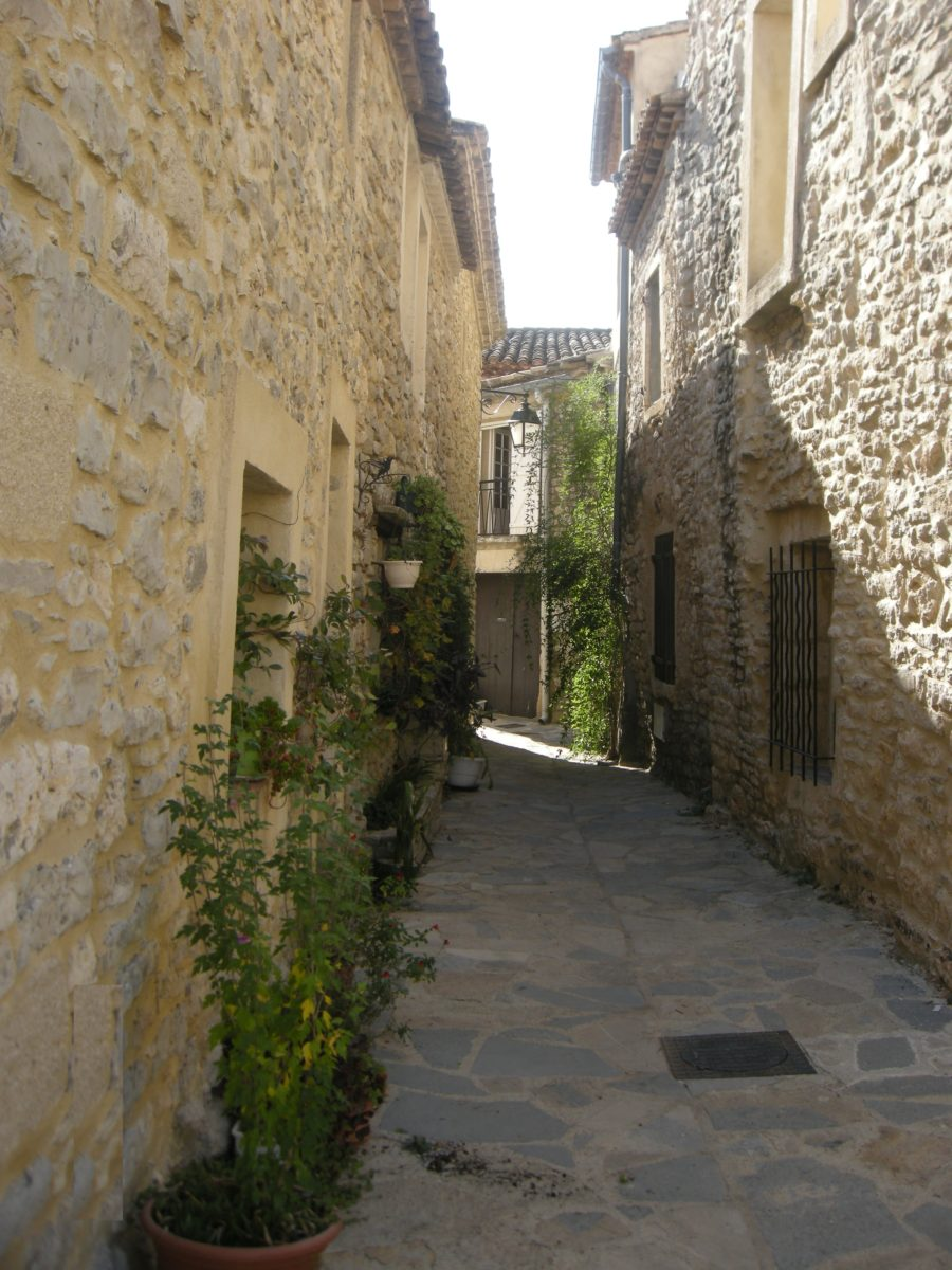 Rue de la forge de Garrigues