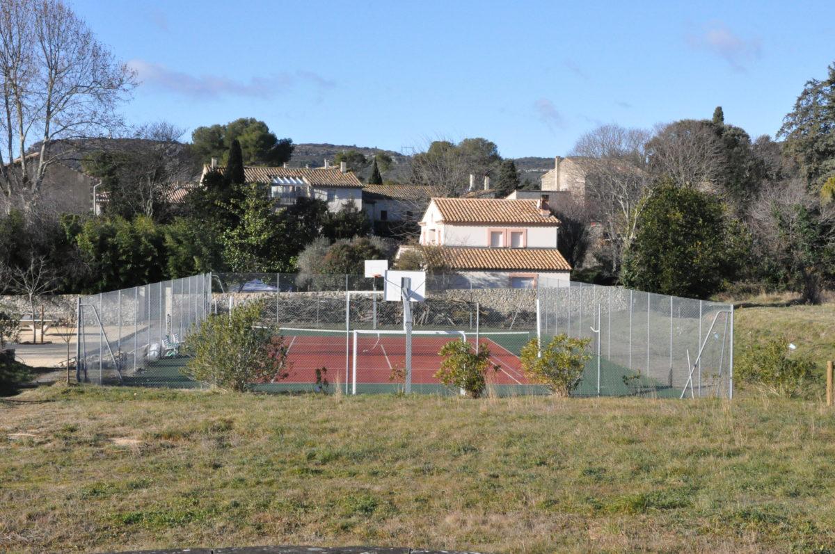 Le cours de tennis de Garrigues