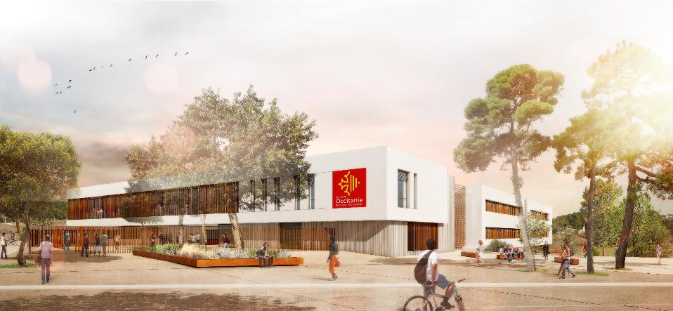 Futur lycée de Sommieres
